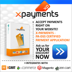 x-cart e commerce shopping cart